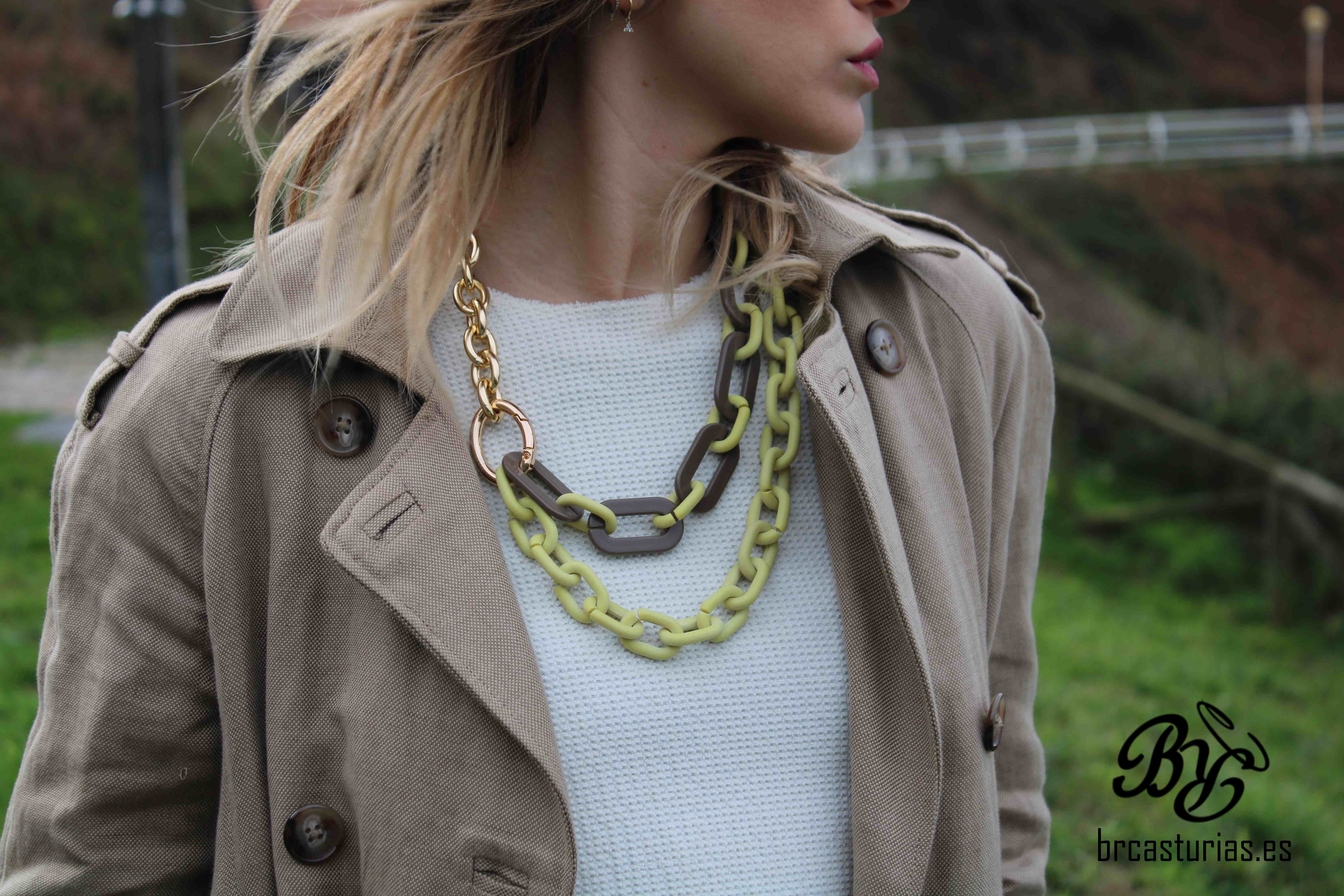 COLLAR DOBLE FLUORESCENTE